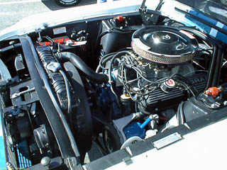 1967 Shelby GT350 engine