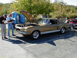 Engine of 1968 GT500