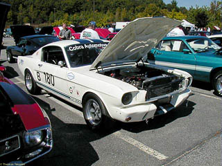 GT350 with engine tuned for racing